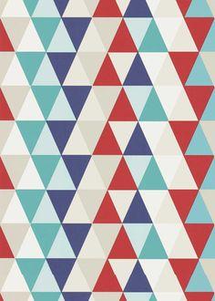 Kinder-Tapete Kaleidoscope 27110525
