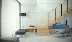 Schody dywanowe to wyraz nowoczesności, minimalizmu. fot. schody Otto, firmy Rintal