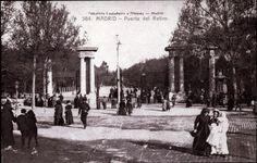 Autor:    CASTAÑEIRA y ÁLVAREZ  Título:    Puerta del Retiro  Fecha:    Entre 1911 y 1915