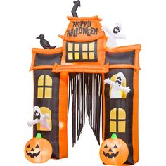 inflatable halloween archway - Google Search
