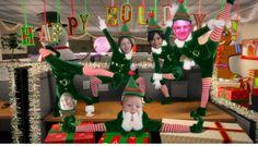 Baile de Navidad 2013 mensaje de saludo.