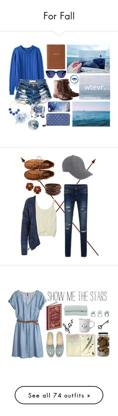 """""""For Fall"""" by izz-monster6 ❤ liked on Polyvore featuring H&M, Peter Jensen, Levi's, Anya Hindmarch, Grey Ant, Monica Rich Kosann, The Elephant Family, Linea, BERRICLE and BlissfulCASE"""