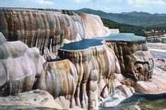 Mammoth Hotsprings, Yellowstone National Park, Frank J. Haynes