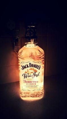 d8840459be Jack Daniels Winter Jack Tennessee Cider Whiskey Alcohol Liquor Christmas  Light Bottle Lamp