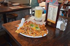 CHILE cheese fries