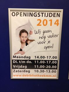 In 2014 leggen we de rode loper uit en zijn we 8,5 uur meer open per week!