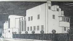 Le dessin de Mackintosh de la 'House for an art lover'  - Charles Rennie Mackintosh