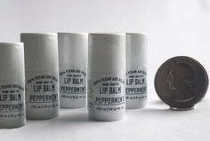 Soapysoap will send 5 customized mini lip balms, labeled with your company logo for just $5.