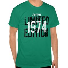 $$$ This is great for          40th Birthday 1974 Limited Edition Custom V05 Tee Shirts           40th Birthday 1974 Limited Edition Custom V05 Tee Shirts lowest price for you. In addition you can compare price with another store and read helpful reviews. BuyDiscount Deals          40th Bir...Cleck Hot Deals >>> http://www.zazzle.com/40th_birthday_1974_limited_edition_custom_v05_tshirt-235418761133877947?rf=238627982471231924&zbar=1&tc=terrest
