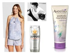 """""""Day Off"""" by paper-dolls-and-play-houses ❤ liked on Polyvore featuring Aveeno"""