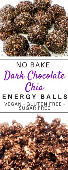 These delicious superfood loaded no bake energy bites are such a healthy and easy recipe! These protein filled energy balls are loaded with oatmeal peanutbutter dates chocolate chia seeds and coconut oil! The simple clean eating recipe cleanses and i Easy Clean Eating Recipes, Clean Eating Desserts, Clean Eating Diet, Healthy Eating, Eating Habits, Healthy Food, Healthy Nutrition, Healthy Kids, Healthy Drinks