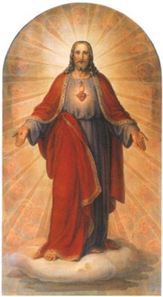 """""""Reveal Thy Sacred Heart to me, O Jesus, and show me Its attractions.Grant that all my aspirations and all the beats of my heart, which cease not even while I sleep, may be a testimonial to Thee of my love for Thee and may. Religious Pictures, Jesus Pictures, Religious Icons, Religious Art, Jesus E Maria, Vintage Holy Cards, Jesus Christ Images, Religion Catolica, Christ The King"""