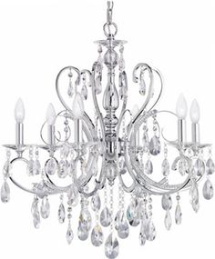 Traditional Crystal Chandeliers - Brand Lighting Discount Lighting - Call Brand Lighting Sales 800-585-1285 to ask for your best price! $1998