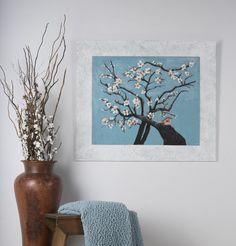 Almond Bird Acrylics over plaster on MDF x Wildlife Paintings, Plaster, Acrylics, Almond, Bird, Artist, Home Decor, Gypsum, Decoration Home