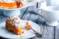 Tarte meringuée à l'orange - Recette - Dessert