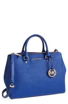 MICHAEL Michael Kors 'Large Sutton' Tote **IN BLACK** available at #Nordstrom & #Bloomingdales & #DavidJones