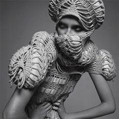 Sandra_backlund créatice suédoise, fait exploser les codes du tricot