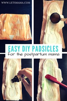 Easy DIY Postpartum Padsicles DIY Padsicles (frozen, healing postpartum pads) are what every woman needs after having a baby. These help to heal, provide pain relief and feel amazing! Diy Postpartum, Postpartum Recovery, Baby Bikini, Newborn Baby Care, Baby Supplies, After Baby, Baby Health, Pregnant Mom, First Time Moms
