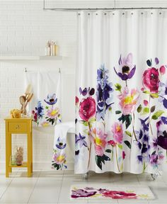 bluebellgray Taransay Shower Curtain - Extra Long Shower Curtain - Browse - Macy's