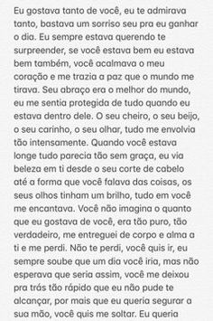 Eu sempre soube que vc iria, mas não assim, sem ter nada concreto ctg! Ems Quotes, Love Quotes, Motivational Phrases, Typography Quotes, Real Love, Text Messages, Texts, Told You So, Letters