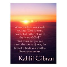 On Love - The Prophet by Kahlil Gibran Postcard Inspirational Christian quotes verses and saying on postcards cards and notes. Kahlil Gibran Quotes Love, Khalil Gibran The Prophet, Amazing Quotes, Great Quotes, Love Quotes, Inspirational Quotes, Interesting Quotes, Love One Another Quotes, Prophet Quotes