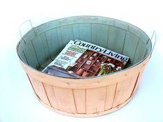 vintage orchard basket. $18.00, via Etsy.