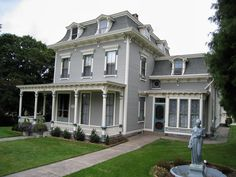 Victorian is first single family in cambridge s avon hill for Mansard roof pros and cons