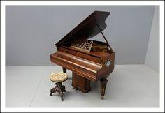 Pianoforte a quarto di coda Gaveau Paris 0370005