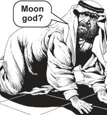 Allah The Moon God - Pre Islamic Arabs where worshiping Idols at the Mecca