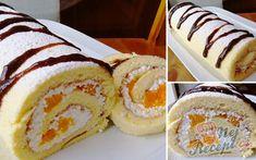 Der perfekte Teig für Biskuitrollen – bricht nicht und ist in 15 Minuten fertig. Quick Dessert Recipes, Easy Cookie Recipes, Cake Recipes, Biscuits, German Baking, New Cake, Perfect Cookie, Pumpkin Dessert, Food Cakes