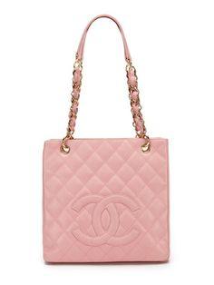 http://www.gilt.com/invite/bjenkins8422  Chanel Pink Caviar Leather Petit Shopper Tote