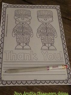 Need a quick and easy to prep freebie for Veterans Day or Memorial Day? This THANK YOU FREEBIE has six writing papers that can be used as Thank Yous to your military family and friends. Also included are ideas for where to mail class sets of letters. #free