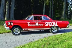 Thunderbolt & Lightweight – 1964 Ford Thunderbol | Hemmings Daily Ford Company, Ford Motor Company, Ford Mustang Car, 1973 Mustang, Kings Ford, Nhra Drag Racing, 1964 Ford, Race Engines, Ford Fairlane