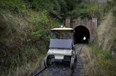 10-Tunnel Rail Cart Tour from Taumarunui Experience a full-day small group guided tour along 40km of an abandoned railway line. You will travelvia RailCart (a cleverly converted golf buggy) through 10 hand-built tunnels, visiting the Ohura Museum along the way. These self-drive RailCarts can fit 2, 4 or 6 people per cart to suit the number of people in your group. Toursgenerally have between 10 and 20 clients.This tour departs from Taumarunui at 9:30am. You will ta...
