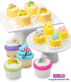 Edible Easter products will save you time and energy in creating masterful creations.