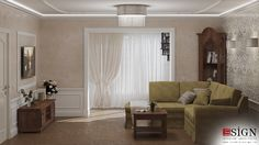 Amenajare casa – design interior in stil clasic - Studio inSIGN Design Interior, Curtains, Projects, Room, Furniture, Home Decor, Travertine, Log Projects, Bedroom