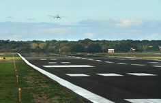 Muskegon County Airport Runway 14/32 Extension, Michigan Norton Shores, Muskegon Michigan, Airports, Aircraft, Runway, Country Roads, Cat Walk, Aviation, Walkway