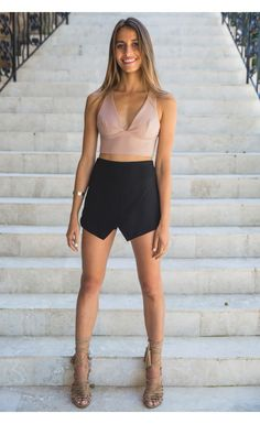 Black Skort - Best Sellers - Clothes