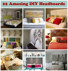 Bedroom Makeovers: 22 DIY Headboards from Babble.com