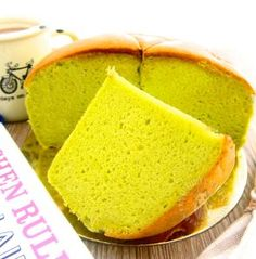 pandan cottony cake ~ highly recommended 班兰棉花蛋糕 ~ 强推