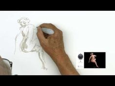 Introducing a new way to study figure drawing. Amazing videos for Artist on PaintintTube! Drawing Practice, Drawing Poses, Life Drawing, Figure Drawing, Painting & Drawing, Inktober, Art Tutor, Drawing For Beginners, Reference Images
