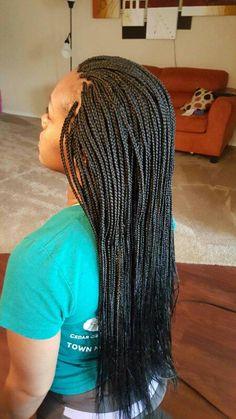 Micro box braids