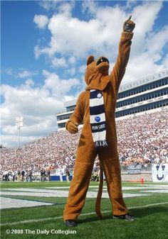 Hail to the Lion! Loyal and true, Hail Alma Mater, with your White and Blue! Penn State Forever <3