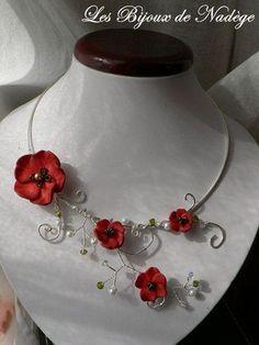 Virág nyaklánc