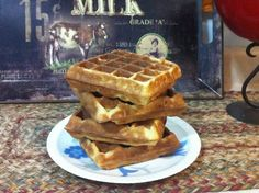 How to Reheat Leftover Waffles | Vintage Cooking. Did your favorite waffle recipe make more waffles than your family could eat? Find tips for freezing and reheating those delicious waffles so you can enjoy them later. http://www.vintagecooking.com/how-to-reheat-leftover-waffles/