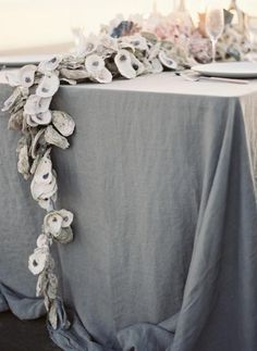 2014 oyster wedding garland, natural wedding garland