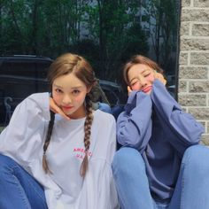 Find images and videos about girl, korean and ulzzang on We Heart It - the app to get lost in what you love. Ulzzang Korean Girl, Ulzzang Couple, Best Friends Forever, Girls Best Friend, Ulzzang Girl Fashion, Korean Best Friends, Best Friends Aesthetic, Girl Friendship, Girl Korea