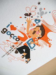 finally!! i 3 gocco is done!!! by inkdesigner, via Flickr