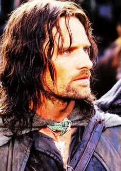 Aragorn- Viggo Mortensen.   25/100 pictures from The Lord of the Rings