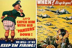 Propaganda Posters of World War Two - Dark Roasted Blend
